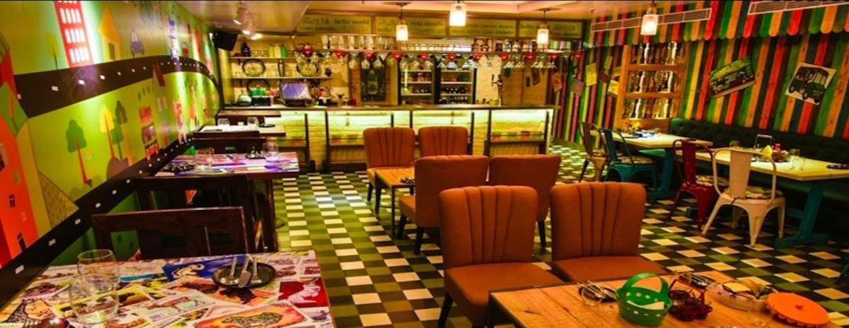 Cafe Hawkers New Delhi Delhi